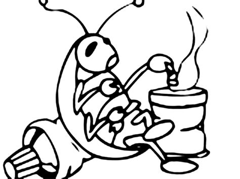 cockroach coloring pages coloring pages