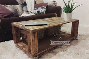 Pallet Coffee Table » New Home Design
