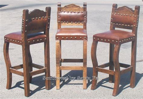 Hacienda Style Bar Stools by Ponderosa Southwestern Style Bar Stools For The Home