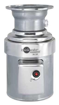 In Sink Erator Garbage Disposal by In Sink Erator Garbage Disposal Commercial 1 Hp Ss 100