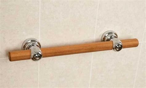 wood pattern grab bar teak grab bars by great grabz