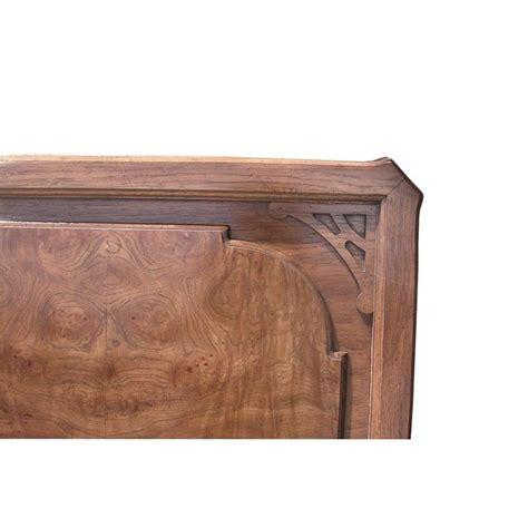 burl wood headboard 1960 vintage century chin hua burl headboard for sale at