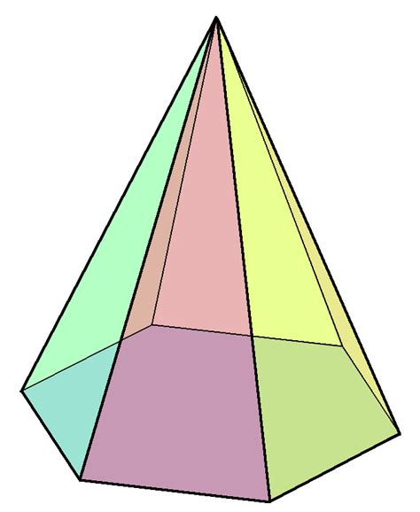 What Is The Name Of A 3d Hexagon Quora - hexagonal pyramid