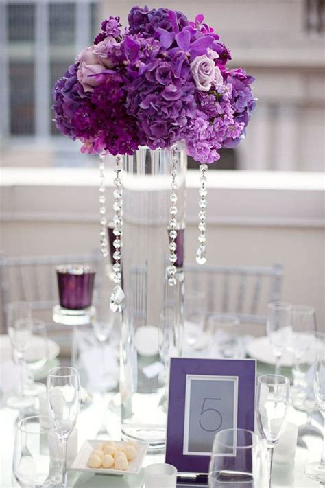 purple flower centerpieces for weddings 25 best ideas about purple wedding centerpieces on