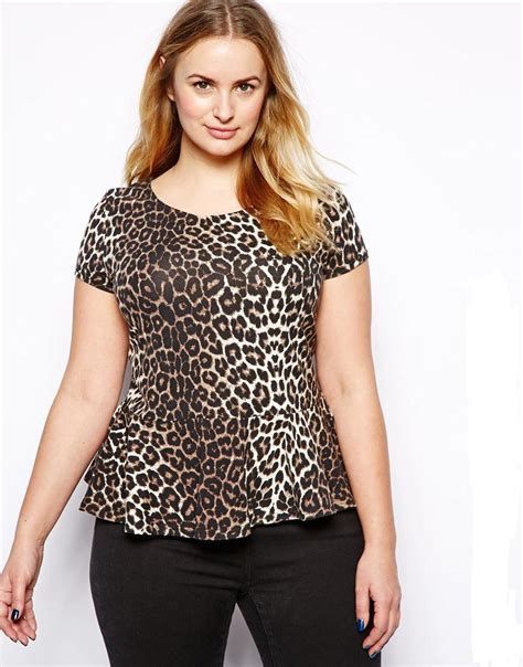 Yasmin Top Blouse Jumbo Bigsize leopard t shirt plus size 6xl 5xl large big