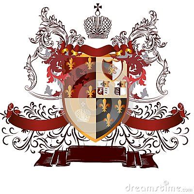 the of heraldry an encyclopedia of armory classic reprint books classic heraldic design with coat of arms and shield in