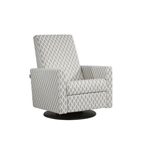 dutailier ottoman footrest dutailier upholstered swivel glider with built in footrest