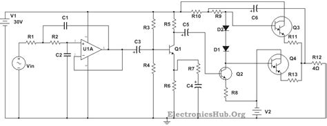 Power Lifier Absolute subwoofer driver circuit diagram