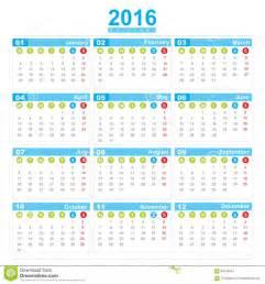 Kalender 2018 Veckor Köpa Start M 229 Ndag F 246 R Vecka F 246 R Kalender 2016 Stock