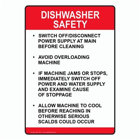 Dishwasher Safe Kitchen Knives food safety kitchen signs kitchen safety