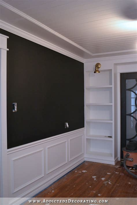 Black Wainscoting Black And White Wainscoting Halflifetr Info
