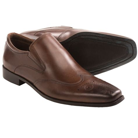 steve madden draftt shoes leather for in brown