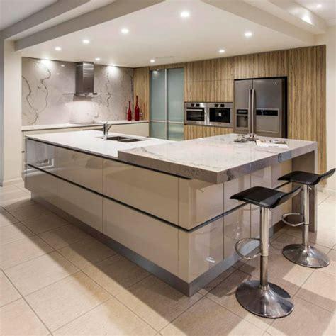 Kitchens With Island Benches Caesarstone Kitchen Amp Bathroom Renovations