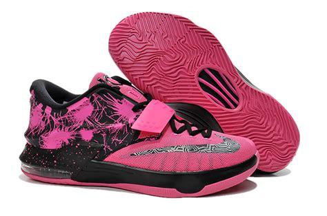 cheap nike kd 7 pink black shoes cheap lebron
