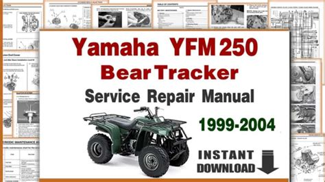 service manual service repair manual free download 1999 dodge ram 1500 engine control dodge yamaha bear tracker yfm250 service repair manual 1999 to 2004 youtube
