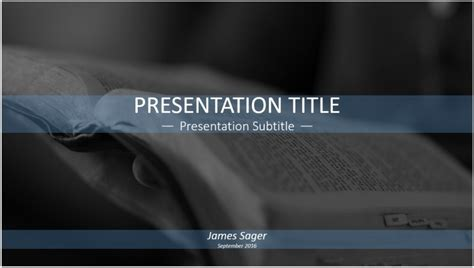bible powerpoint templates reading the bible powerpoint template 11338 free
