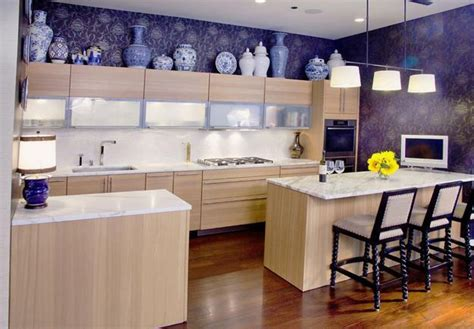 Contemporary Kitchen Wallpaper Ideas Contemporary Kitchen Wallpaper Ideas Monochrome Modern Kitchen Kitchen Wallpaper Ideas 10 25