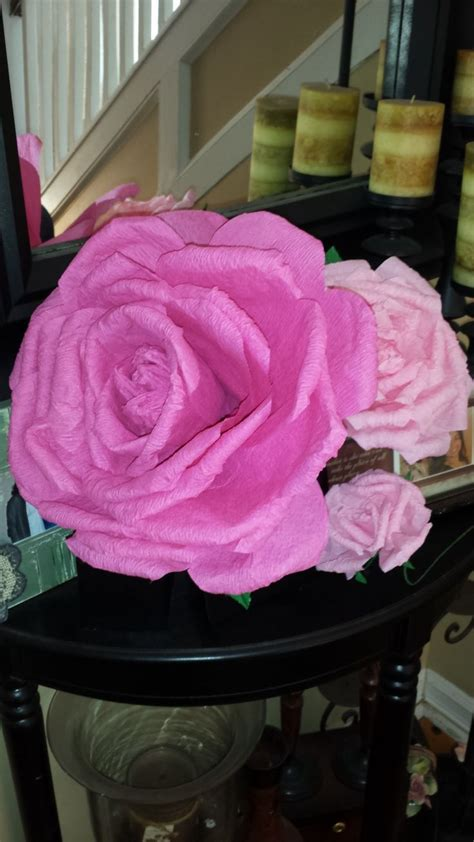 How To Make Crepe Paper Roses Step By Step - 17 best ideas about crepe paper roses on
