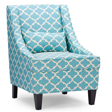 baxton studio lotus fabric armchair light