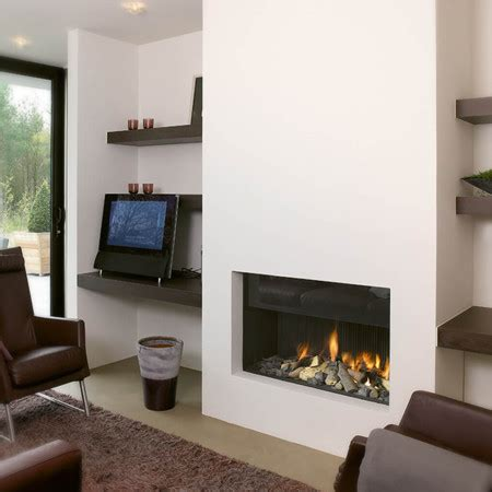 Contemporary Built In Fireplace I Contemporary Fireplace