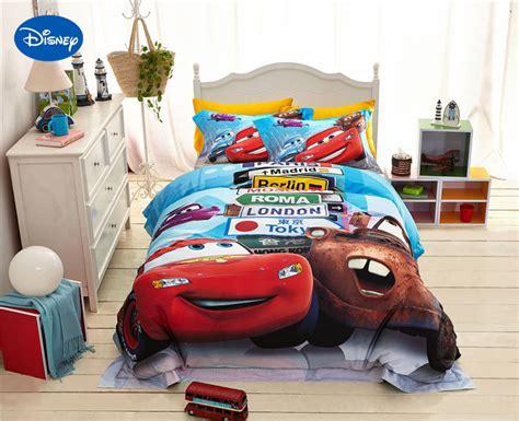 disney cars bedroom decor disney lightning mcqueen cars print bedding for