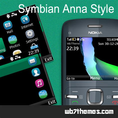 nokia asha 210 themes 320x240 free download symbian anna style theme c3 00 x2 01 320x240 s406th asha