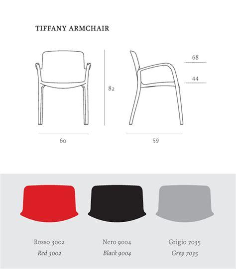 altezza sedie poltroncina con braccioli casprini arredare moderno