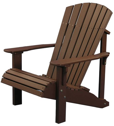 Luxcraft Outdoor Furniture by Luxcraft Poly Deluxe Adirondack Chair Swingsets Luxcraft