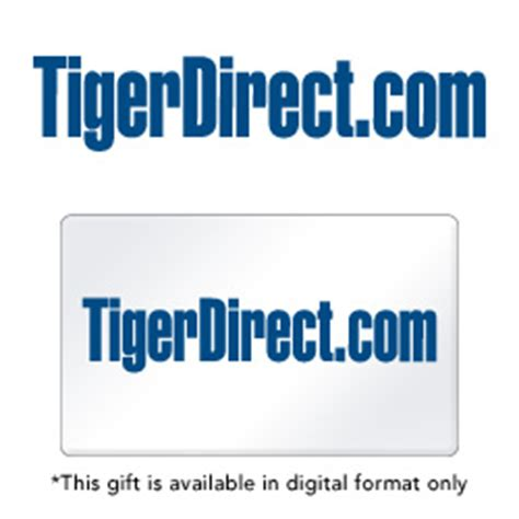 Tigerdirect Gift Cards - tigerdirect com e gift cards from giftbasketstation com