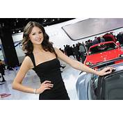 The Most Beautiful Models Of Detroit Motor Show
