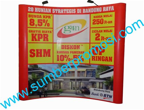 Backdrop Murah Untuk Seminar back wall murah back wall back droop portable