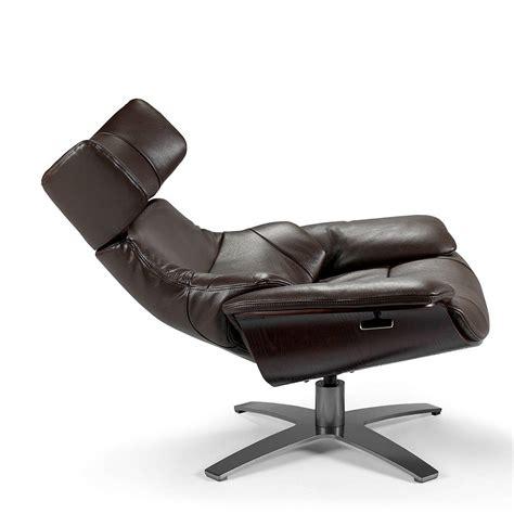 sillon relax giratorio sill 243 n giratorio tapizado en piel con mecanismo relax de