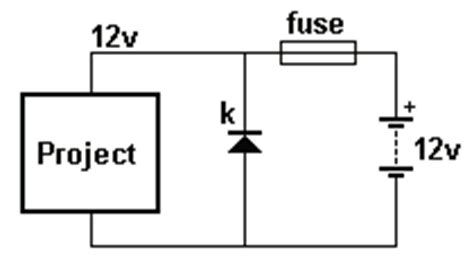 fuse diode protection swahiliteknolojia how a diode works