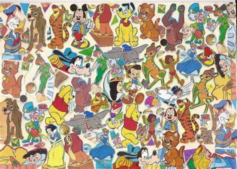 wallpaper of disney characters disney character backgrounds wallpaper cave