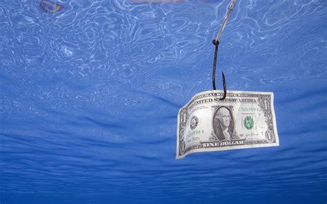 humor dollars paper money  water money
