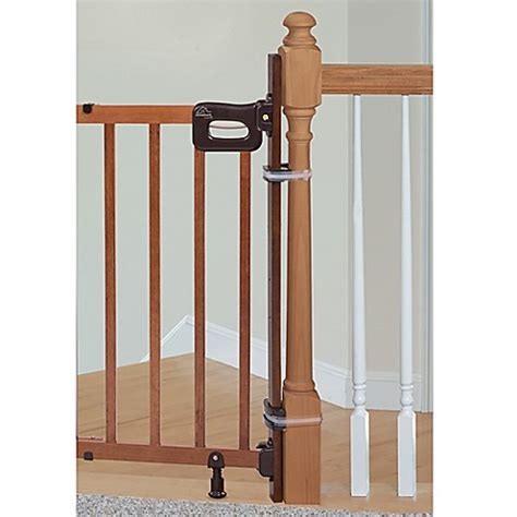 banister kit for baby gate home safe by summer infant 174 bannister to banister