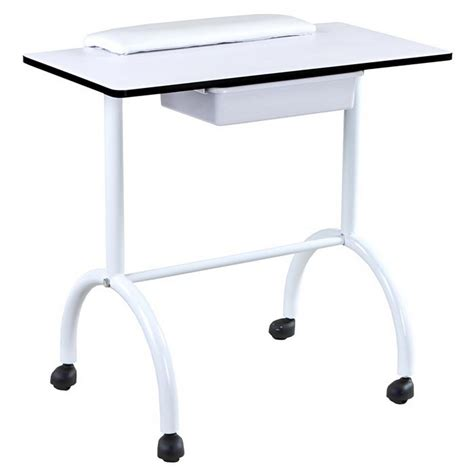 Brand New White Nail Salon Manicure Table Mf 05 Ebay White Manicure Table