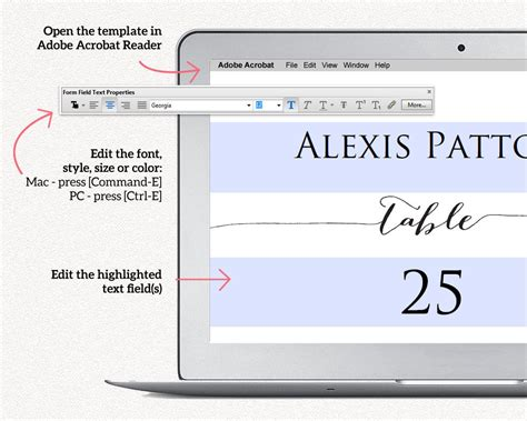 Place Card Size Template by Wedding Place Card Templates 183 Wedding Templates And