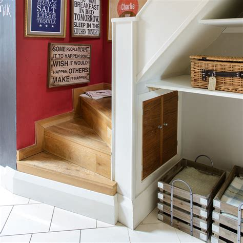 Home Design Small Kitchen Small Shelves Under Stairs Railing Stairs And Kitchen