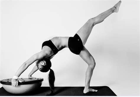 boat pose on bosu 22 best images about bosu yoga on pinterest strength