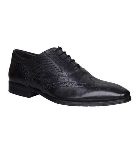 bata oxford shoes bata ambassador black perforated oxford shoes available at