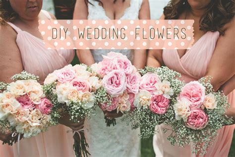 Diy Wedding Flowers by Diy Wedding Flowers Live Simple