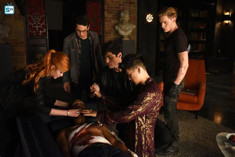 Promo Dominic Dress photos shadowhunters season 1 promotional episode photos episode 1 06 of and