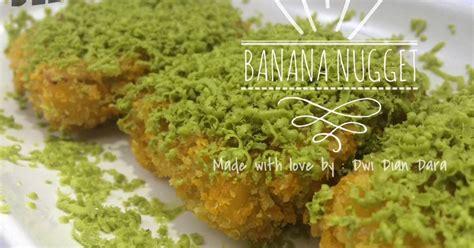Cetakan Banana Nugget resep pisang nugget oleh dara rara cookpad