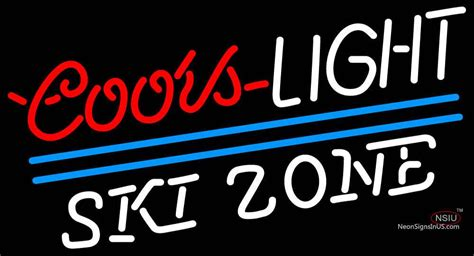 coors light skis for sale coors light ski zone neon beer sign neonsigns usa inc