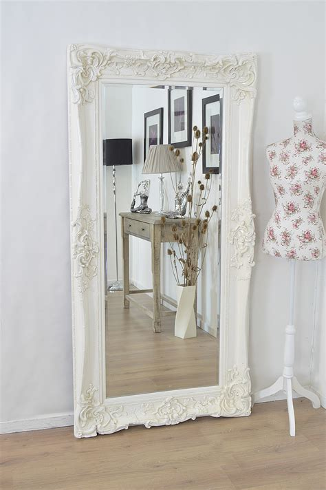 large shabby chic mirror large white shabby chic mirror mirror ideas