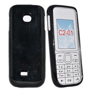 Casing Nokia C2 C2 1 black tpu silicon silicone skin back cover for nokia c2 01 c201 best deals with price