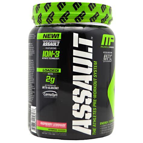 Mp Assault 30 Serving Suplemen Fitnes Pre Workout musclepharm assault suplemenfitness net