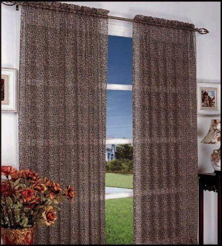 leopard print sheer curtains curtains
