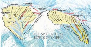 copper mountain ski trail map elevation terrain opening dates